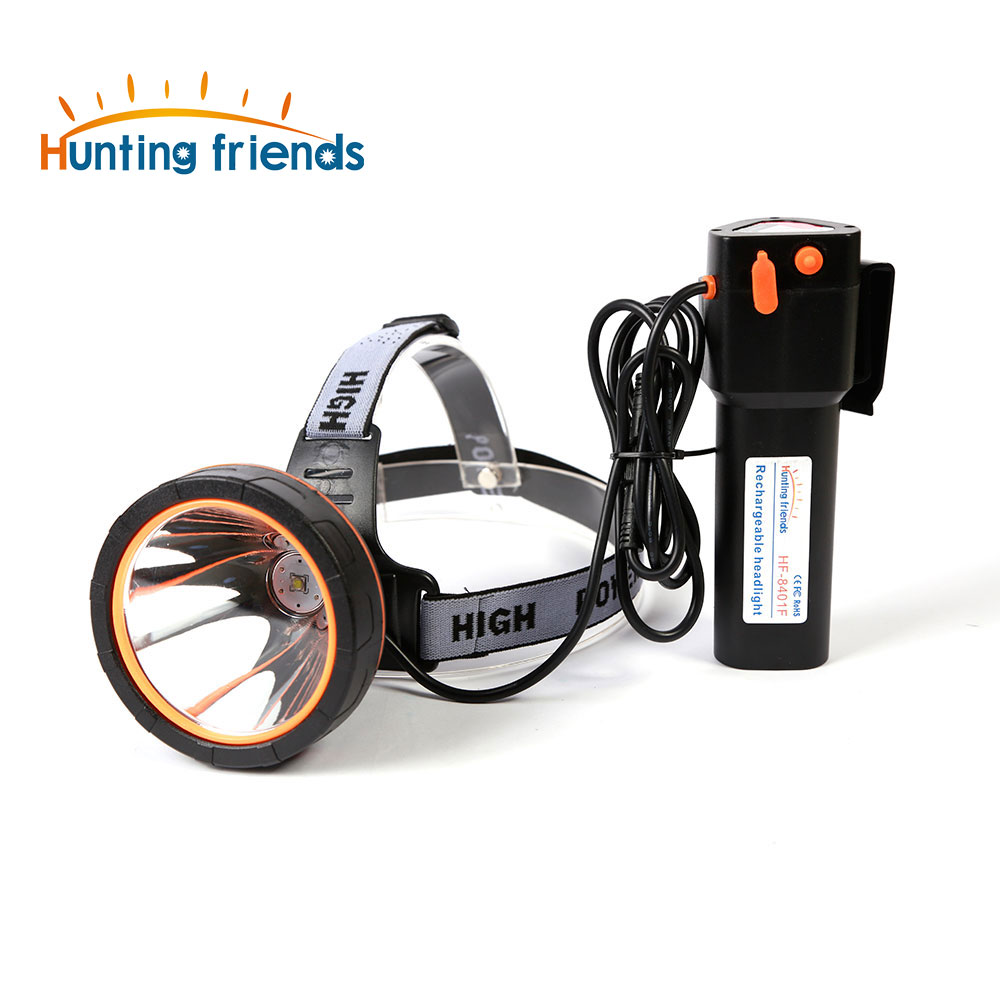 Hunting friends Powerful Headlight Super Bright Headlamp Rechargeable Flashlight Waterproof Head Torch for Hunting Fishing image