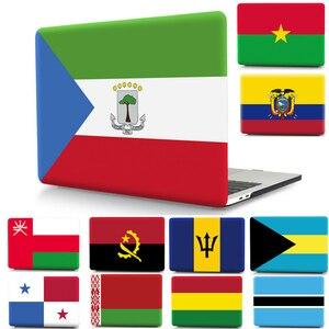 Чехол для ноутбука с национальным флагом, чехол для Apple Macbook Air Pro Retina 11 12 13 15 16, защитный чехол для Mac 11,6 13,3 15,4