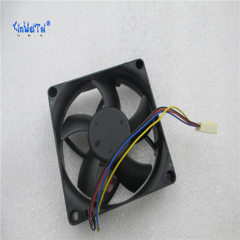 PVA080F12H 8020 80mm x 80mm x 20mm DC brushless PWM Cooler Cooling Fan 12V 0.36A 4Wire 4Pin Connector