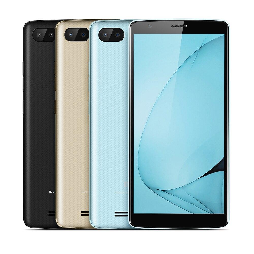 BLACKVIEW A20 3g Smartphone 5,5 zoll MTK6580 Quad Core 1,3 ghz 1 gb RAM 8 gb ROM Android 8.0 Dual zurück Kameras