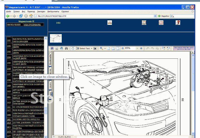 Schema Elettrico Renault Modus : Renault elektrische schema s clio iii in