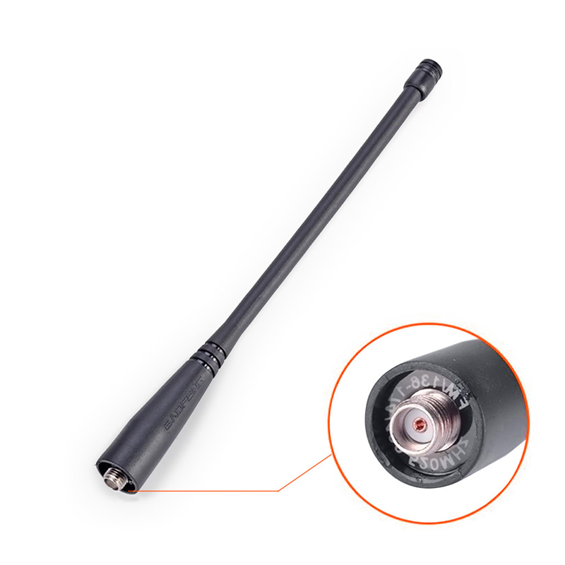 Walkie talkie BaoFeng uv-5r antenne Sma-buchse UHF/VHF 136-174/400-520 MHz für UV5R UV-82 GT-3 Baofeng zubehör
