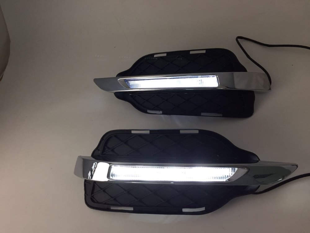 eOsuns LED daytime running light DRL for Mercedes-Benz W204 GLK300 GLK350 GLK500 2013-16 auto fuel filter 163 477 0201 163 477 0701 for mercedes benz
