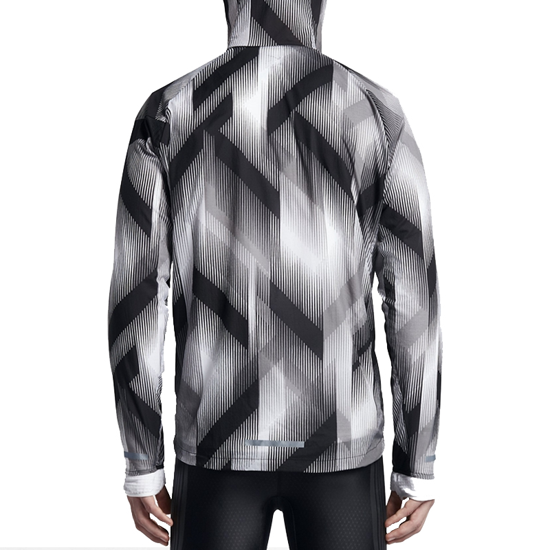 a428c4971 Nike Men's Spring Autumn Woven Windproof Hoodie Jacket 833548-010 ...