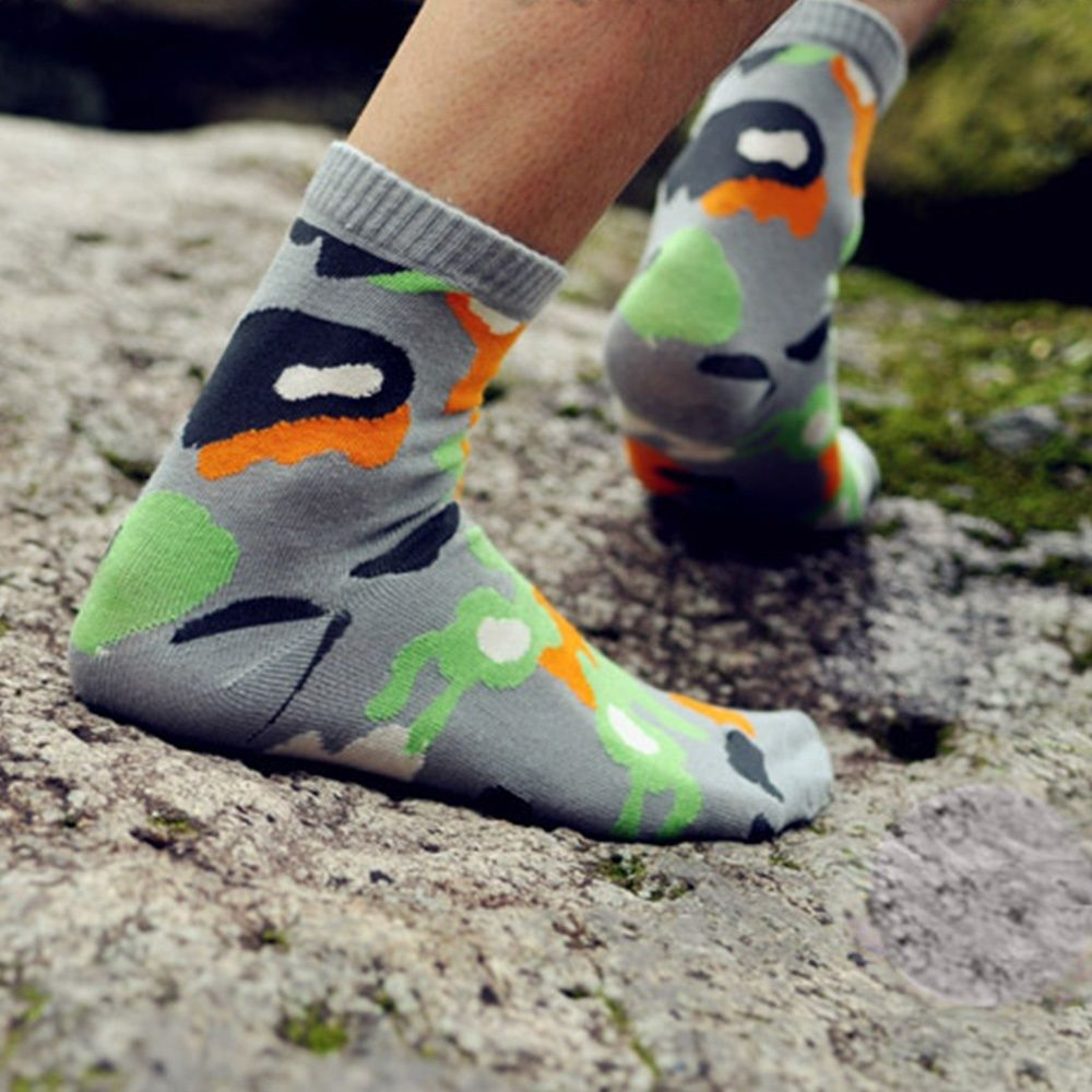 1 Pair Fashion comfortable Men Cotton Camouflage Socks Autumn Winter Warm Sock Breathable Crew Sock