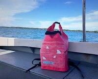 Precio 35L pies de red mochila seca Drift snorkel multifunción pesca navegación flotante canotaje Rafting bolsa impermeable
