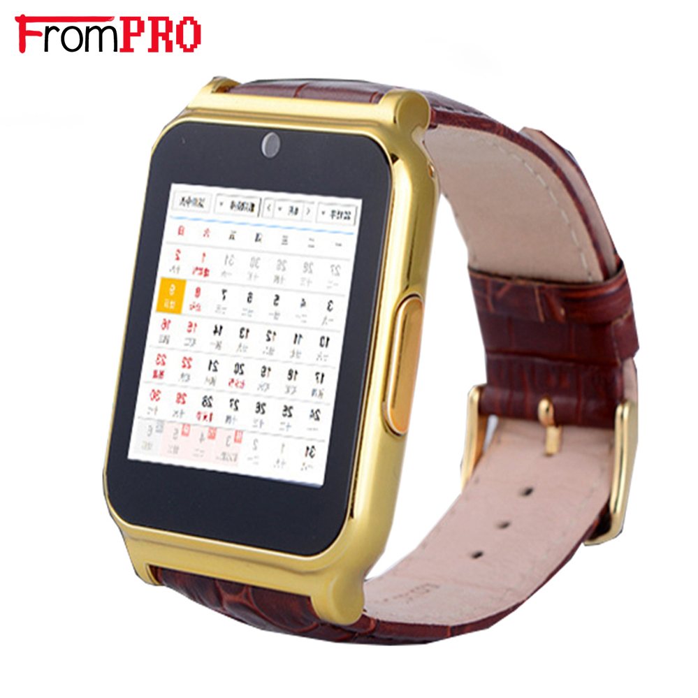 FROMPRO W90 Smart Watch Clock With Sim TF Card Slot Push Message FM radio earphone Bluetooth