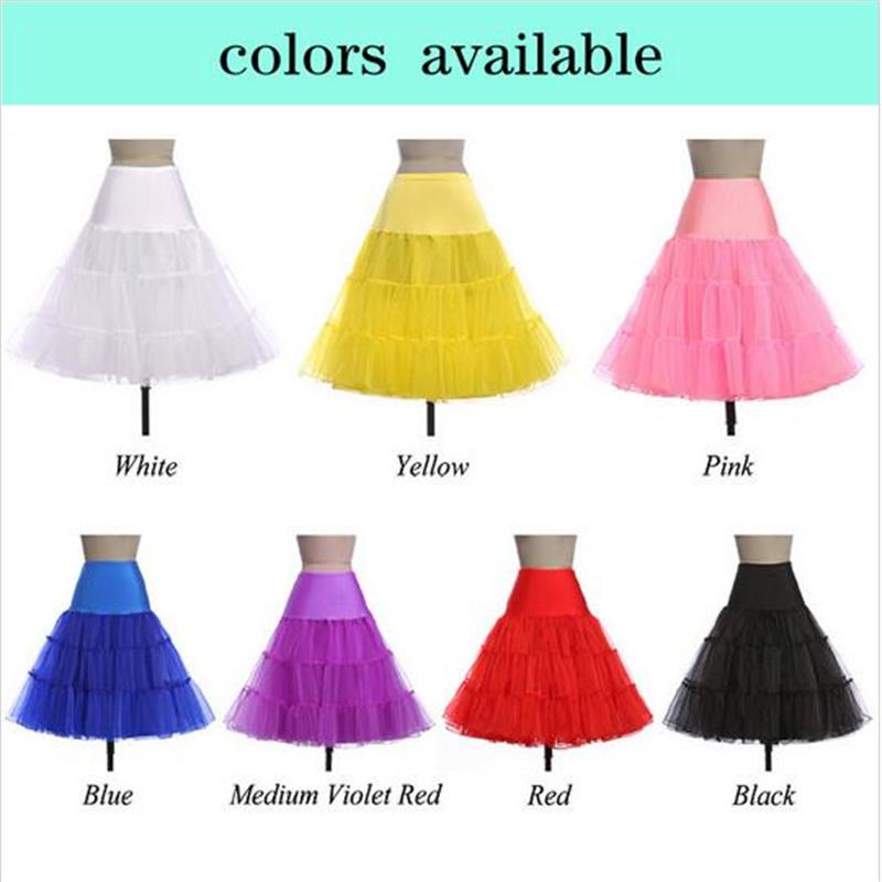 Multi Colorful Petticoat For Wedding Dress Plus Size In Stock Fast Shipping Wedding Accessories Underskirt Crinoline