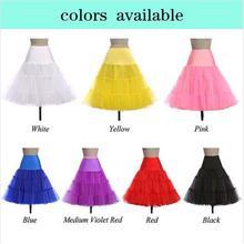 Multi Красочные Нижняя юбка для свадебное платье плюс Размеры в наличии Быстрая доставка Свадебные аксессуары нижняя кринолин