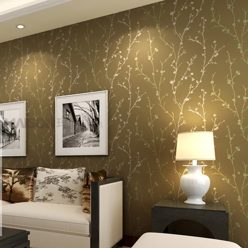 Great Good Buy Classic Flock Textured Wallpaper Embosser With Living Room Wall  Texture Part 18