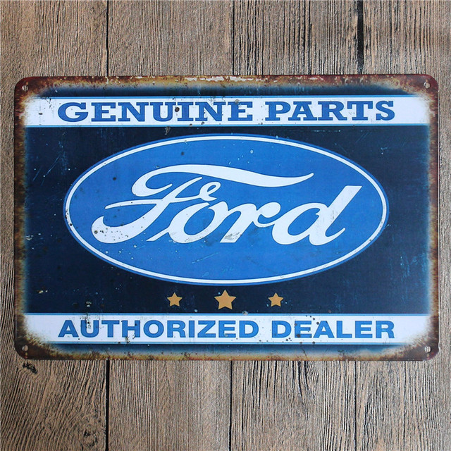 Vintage Home Decor Genuine Parts Vintage Metal Tin Signs Retro Metal Sign Decor The Wall Of