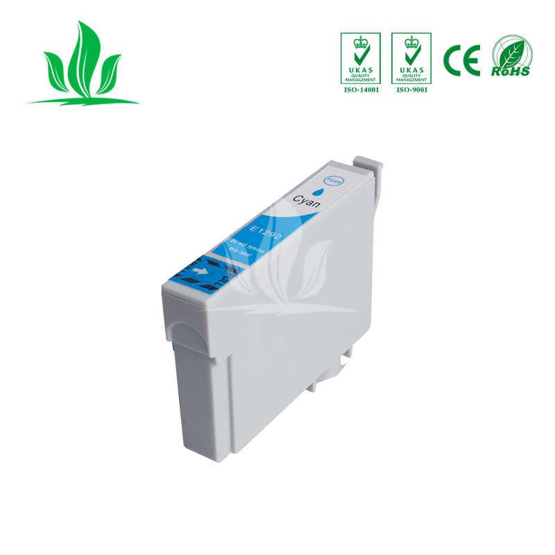 4C 1291XL Kompatibel Tinta untuk Epson T1291 T 1291 12 XL Ink Cartridge untuk Stylus SX420W SX425W SX525WD SX230