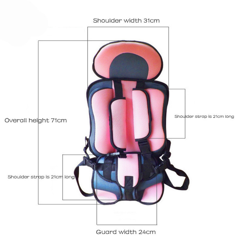 0-5 Year Baby Stroller Seat Mat Portable Toddler Booster Seat Simple Baby Chairs Thickening Sponge Kids Stroller Seats Pad