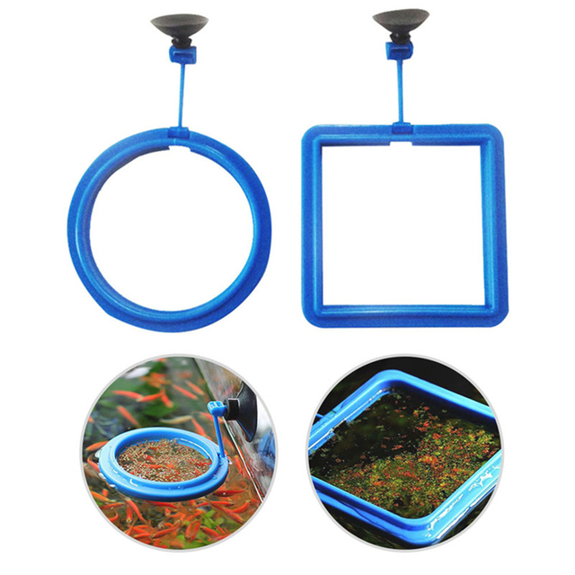 Aquarium Feeding Ring and Floating Food Tray Feeder  3