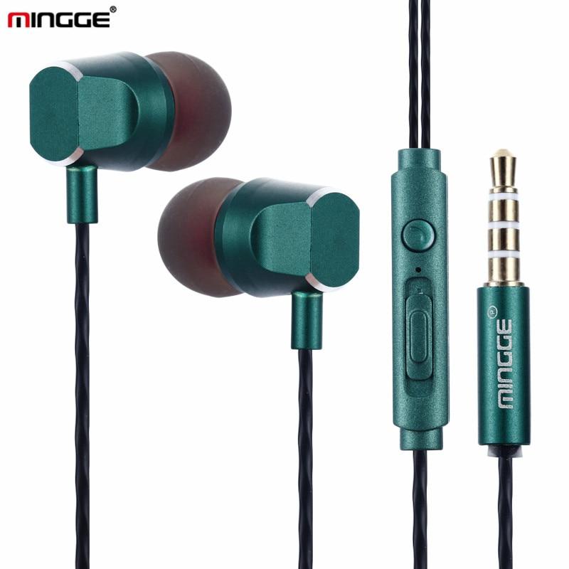 MINGGE Brand M14 Headphone High Quality Original Earphone Wired ...