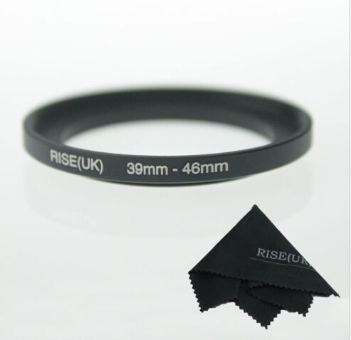 RISE(UK)39 MM - 46 MM 39 to 46 Step Up Ring Filter Adapter