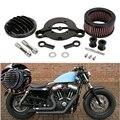 Harley Motor acessórios preto Air Cleaner filtro de entrada para Harley Sportster 883 1200 XL 2004 - 2016 X 48