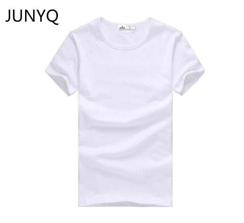 2019 gratis verzending nieuwe slanke donker groen blauw grijs zwart wit t-shirts slim fit korte mouw mannen t-shirt 6 maat S-XXXL