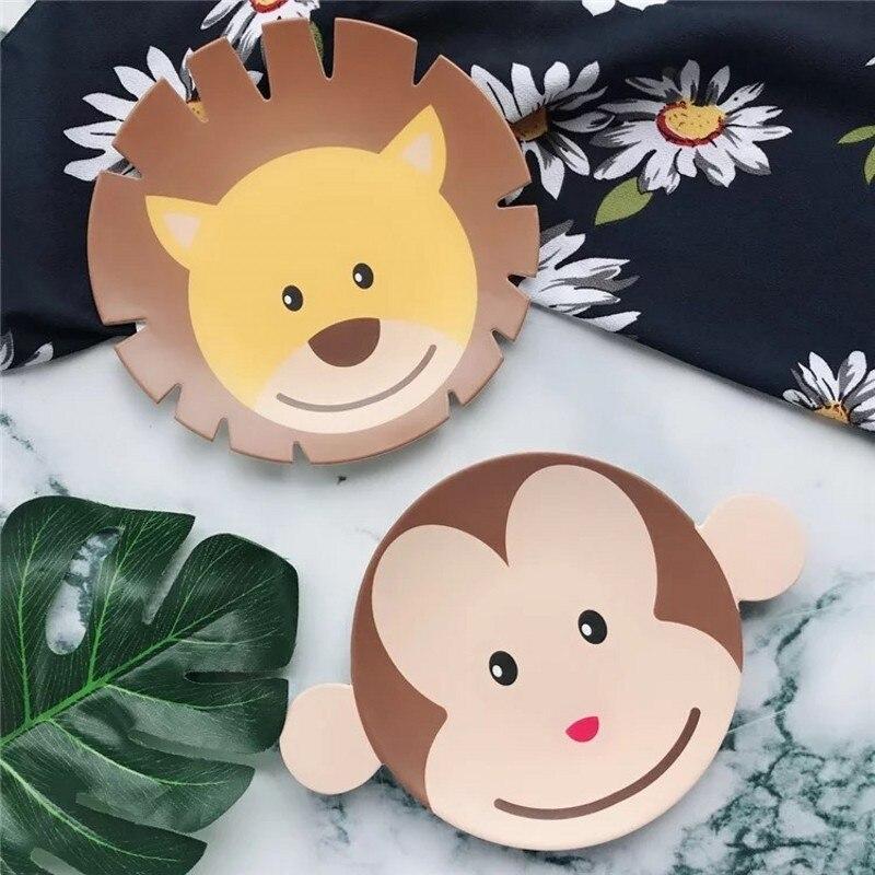 6pcs / set kreatif yang popular kreatif melamine pinggan mangkuk - Memakan kanak-kanak - Foto 4