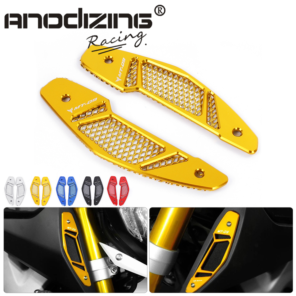 free shipping Motorcycle  Air Intake Cover with Mesh Grilles for Yamaha MT 09 MT-09 FZ-09 2013 2014 15 2016