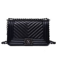 2018 Luxury Handbags Women Bags Designer Luxury Brand Female Crossbody V Small Chain Shoulder Bags Vintage