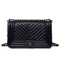 2018 Luxury Handbags Women Bags Designer Luxury Brand Female Crossbody V Small Chain Shoulder Bags Vintage