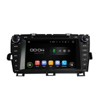 1024 600 Quad Core 2 Din 8 Android 4 4 Car Dvd Player For Toyota Prius