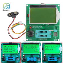 купить Digital LCD GM328A Transistor Tester LCR Diode Capacitance ESR Meter PWM Square Wave Frequency Signal Generator дешево