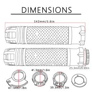 """Image 5 - 7/8 """"אופנוע CNC אביזרי ידית כידון אופנוע כידון מסתיים עבור BMW R1200S R1200ST R1200GS הרפתקאות R1200RT r1200se"""