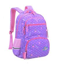 Wodoodporne dzieci plecaki dla dziewcząt torby szkolne dla dzieci dziecięce plecaki księżniczka tornistry Mochila plecaki torebki dziecięce tornister tanie tanio SEVEN STAR FOX Poliester zipper Dziewczyny kids bags 46cm 32cm 0 78kg 23cm nylon