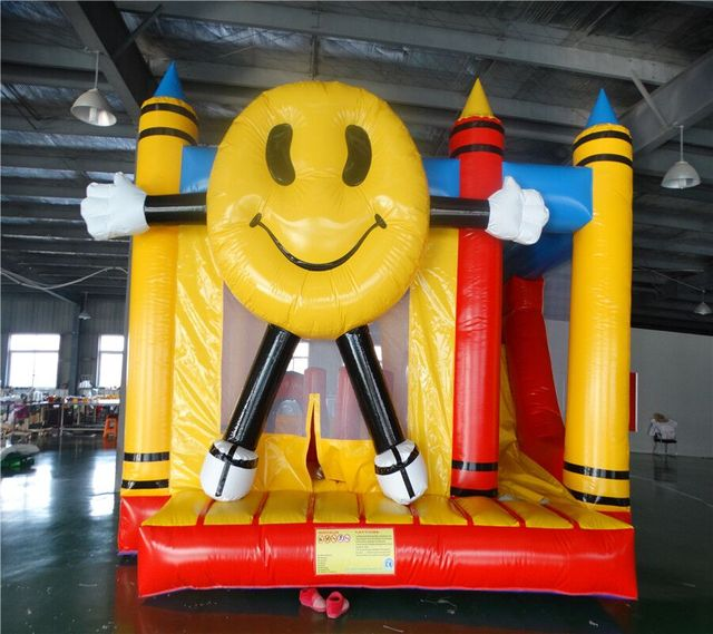 Jumping playground bouncer with slide combo inflatable bounce house  Jumping Castle