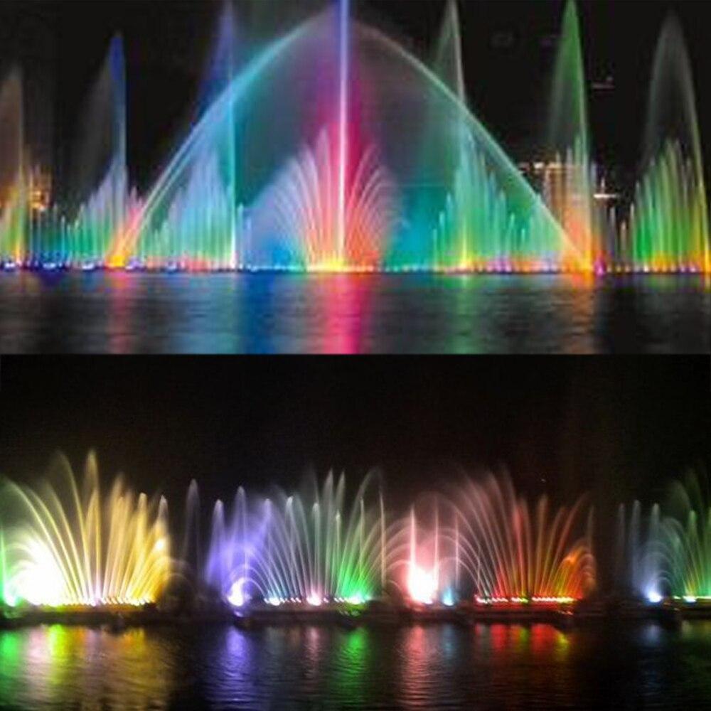 Livraison gratuite IP68 étanche RGB AC12V LED extérieur 5 W bar fontaine lumière classique sous-marine spot lumière de lampes de piscine