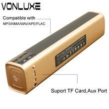 Portátil 20 w barra de Sonido Del Altavoz Bluetooth Inalámbrico Super Bass de Altavoces Estéreo de espera con Altavoces NFC para el Teléfono Táctil TV