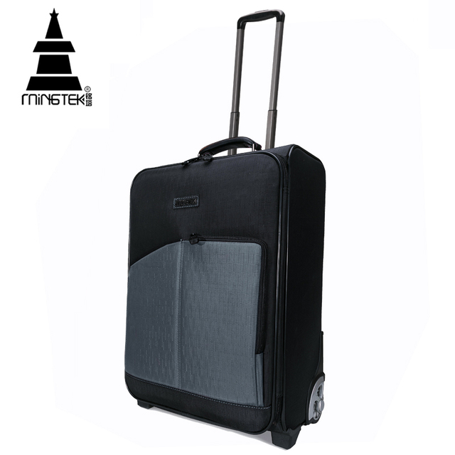 Travel 20 Inch Trolley Luggage Suitcase With Wheels Caster Large Capacity Nylon Waterproof Rolling Luggage Case High Quality