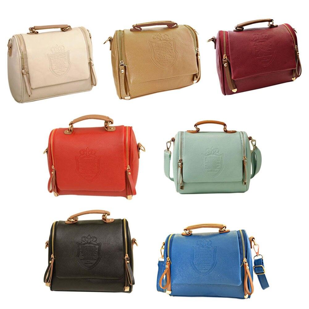 Retro British Style Female Handbag Package Women Shoulder Slope Across Bag Best Sale-WT