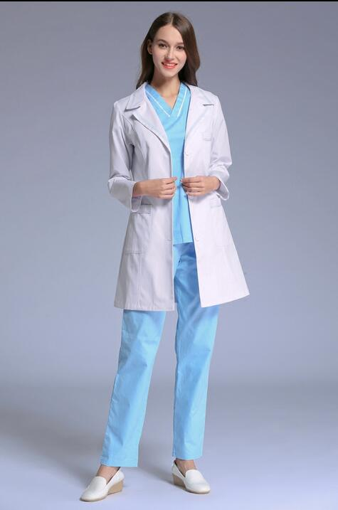 Popular White Doctor Coat Women-Buy Cheap White Doctor Coat Women ...