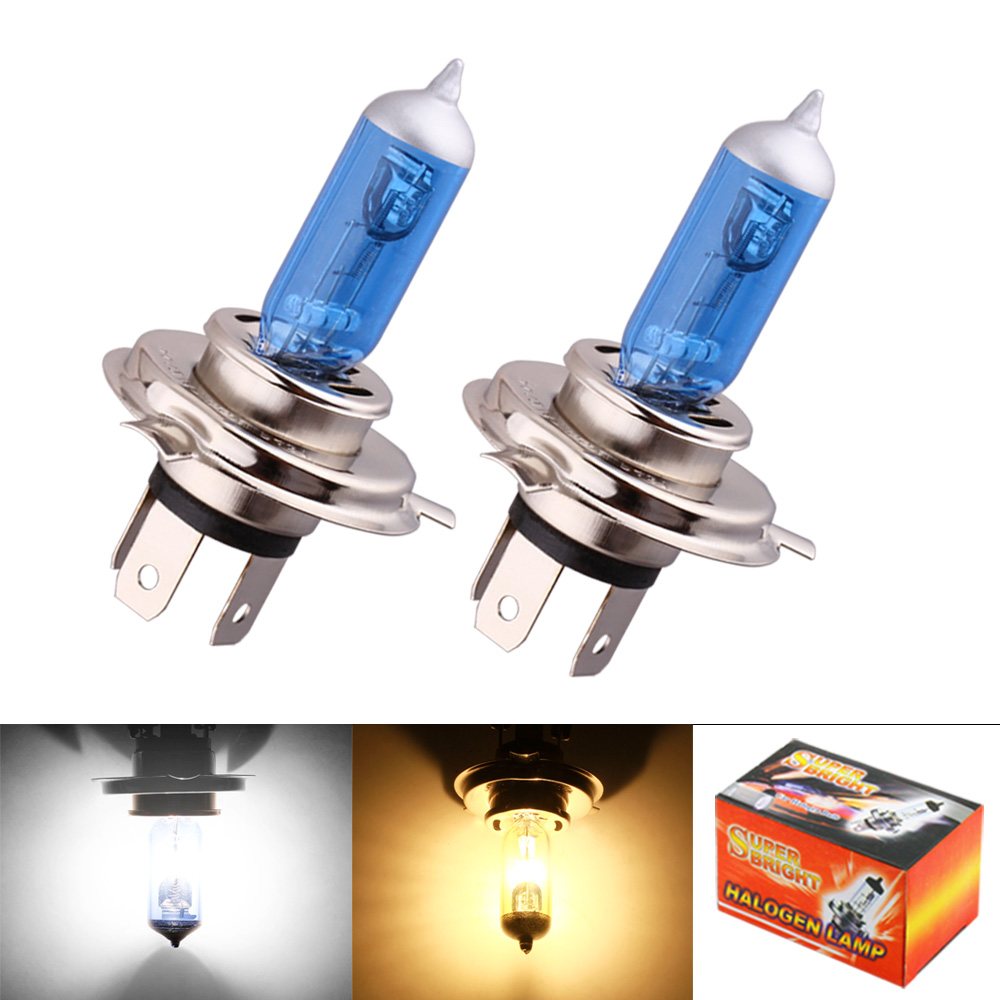 Halogen Light For Cars >> Detail Feedback Questions About 2pcs H4 Super Bright White 3000k