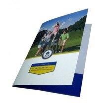 Zuoluo Заказной A4 карман папка печать файл Обложка печать