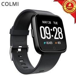 COLMI CY7 smart watch ekran dotykowy Bluetooth wodoodporna sport tracker fitness mężczyzn smartwatch dla iOS telefon Android w Inteligentne zegarki od Elektronika użytkowa na
