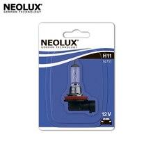 Галогеновая лампа головного света Neolux N711-01B H11 цвет стандартный желтоватый 12В 55Вт 3200K (1 шт)