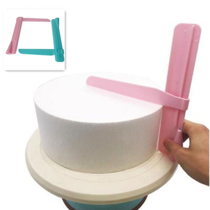 Cake-Scraper-Tools Tableware Decorating Fondant-Spatulas Cake-Edge Kitchen