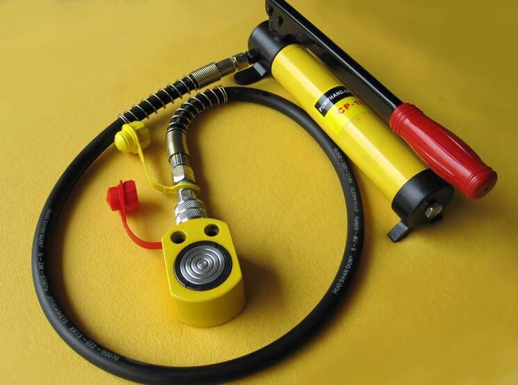 Super Thin Type Hydraulic Jacks RMC-101 With Pump Hydraulic Jack, work travel of 11mm