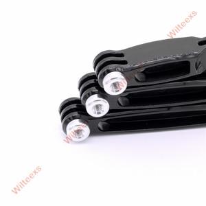 Image 5 - WILTEEXS 3 in 1  Accessories Extension Arm Set for Hero 5 4 / 3+ / 3 / 2 SJ4000 SJ5000 6000 7000 8000 XIAOMI YI 4K camera