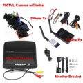 FPV Combo 5.8 ГГц FPV Система 700TVL камера w/gimbal 5.8 ГГц Rx и 200 МВт Tx и 800x480 Монитор Для FPV Quadcopter