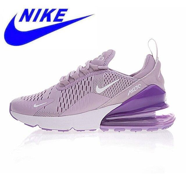 promo code 8141a 6ac5e D origine Nike Air Max 270 chaussures de course de Femmes, Pourpre Blanc,