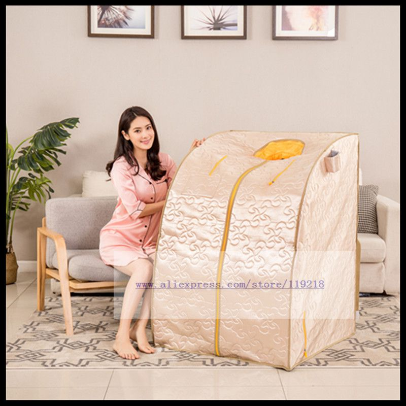 Millimètre vague maison vapeur chambre sueur vapeur boîte cellulaire bain articles de santé lumière vague mèche instrument vapeur sèche énergie sauna