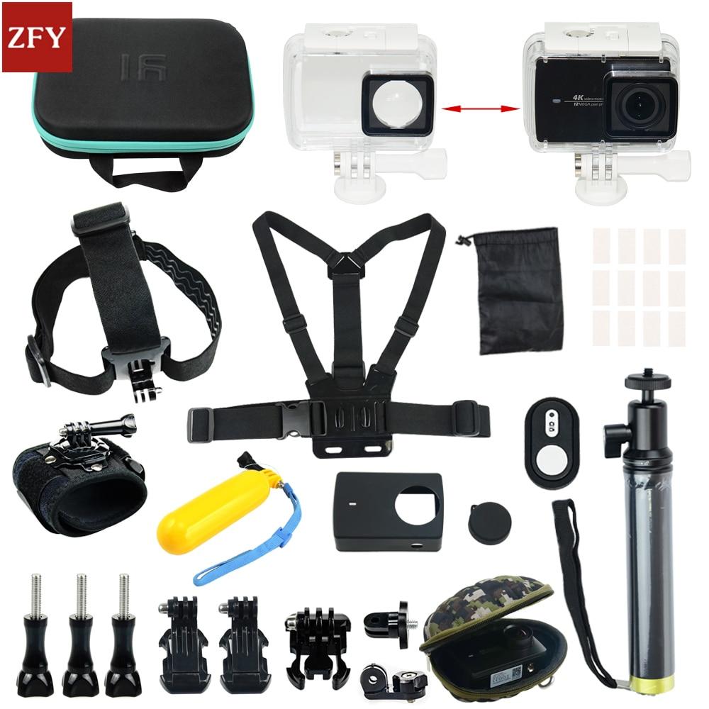 Original Xiao Mi Yi Action Sports Camera Accessories Waterproof Housing Case 60M Diving Waterproof Box For