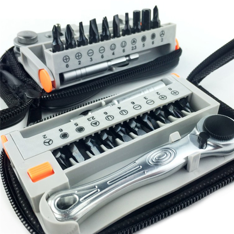 12PCS / sada mini přenosných rychloběžných šroubováků - Sady nástrojů - Fotografie 3