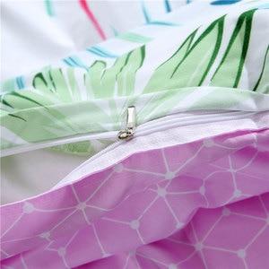 Image 5 - 열 대 식물 아이 침대 커버 세트 Duvet 커버 성인 어린이 침대 시트 및 Pillowcases 이불 침구 세트 2TJ 61006