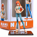 Japanese Anime Cartoon Two Years Later One Piece Nami Action Figures PVC Tos Doll Model Collection OPFG101